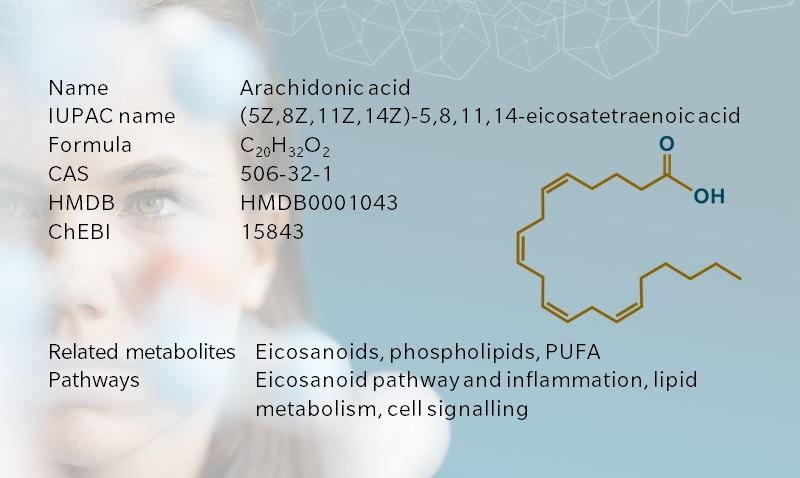 Key information on arachidonic acid