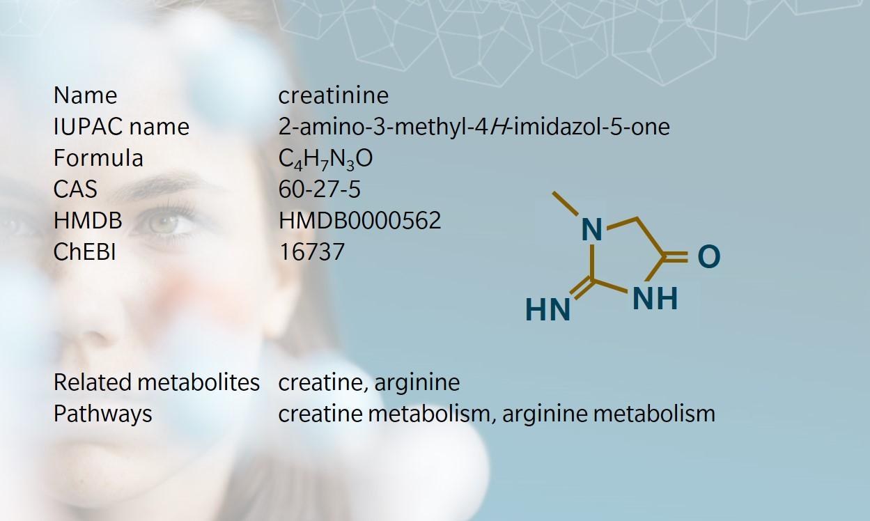 Key information on creatinine